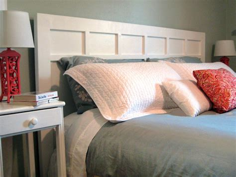 how to style a bed how to make a simple cottage style headboard how tos diy