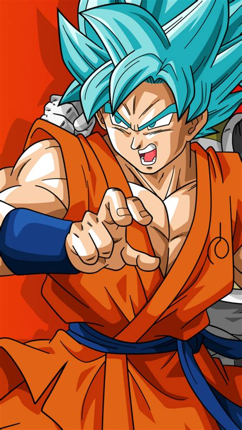 wallpaper android goku ssj blue  android wallpapers