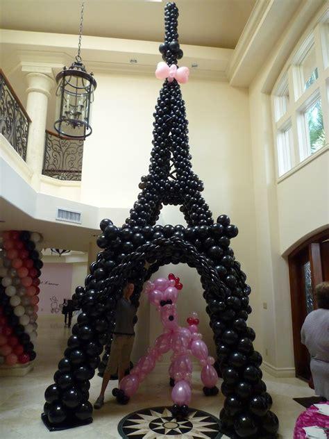 eiffel tower birthday decorations ideas interior