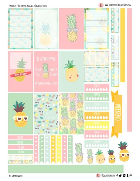 printable planner stickers free 5662 best free printables and more images on pinterest