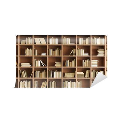 carta da parati libreria carta da parati libreria pixers 174 viviamo per il