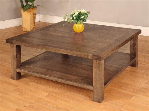 Oak Wood Coffee Table Solid Wood Coffee Table Design Images Photos Pictures