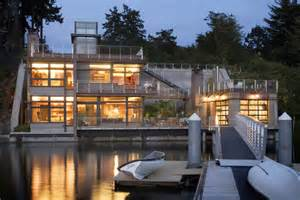 sustainable house on the water s edge idesignarch