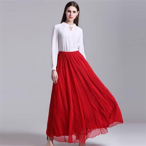 5 Summer Skirt Extravaganza by Fashion Summer Bohemian Skirts Chiffon