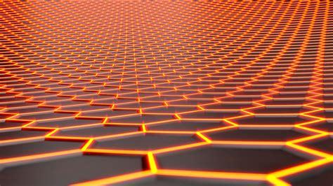 Pu103001011 Form Neon Yellow baggrunde sollys neon cgi symmetri gul sekskant m 248 nster cirkel honningtavler lys