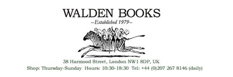 walden books uk walden books secondhand bookshop camden