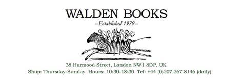 walden book questions walden books secondhand bookshop camden
