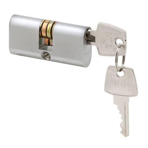 Dryer Grover Alike 6 In Line Chrome prime line brush chrome dual key security sliding door