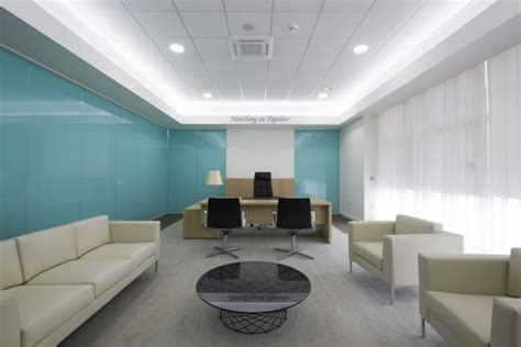 Blue Office by 17 Executive Office Designs Decorating Ideas Design