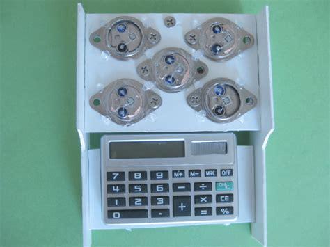 transistor jengkol sebagai solar cell solar panel of transistor solar cells powering a calculator