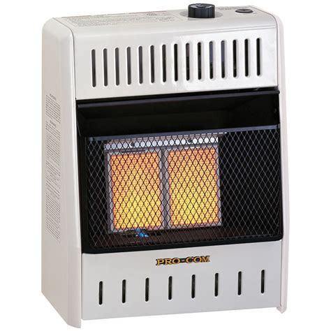 Garage Heaters Gas Ventless by Ventless Two Plaque Propane Gas Wall Heater 10 000 Btu