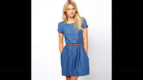 imagenes modelos de falda jean modelos de vestidos de jean youtube