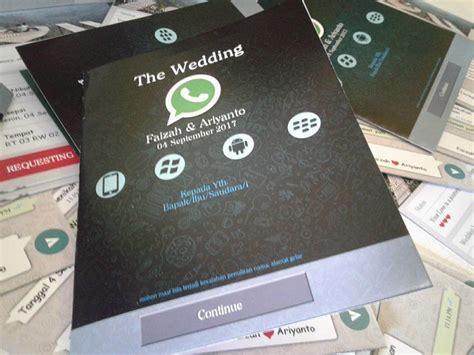 nirwana digital print undangan nikah desain whatsapp