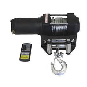 3000 lb 12 volt electric atv winch with remote truck tractor 28770