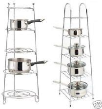 Saucepan Shelf 5 Tier Pan Stand Ebay