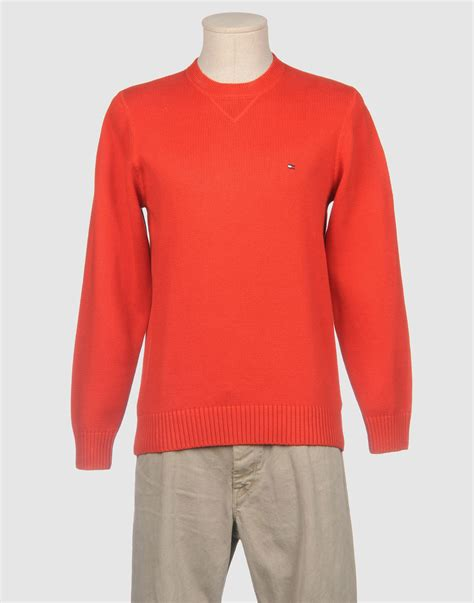 hilfiger crewneck sweater in for lyst
