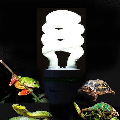 uvb light for turtles 5 0 uvb 13w reptile light bulb uv l for vivarium