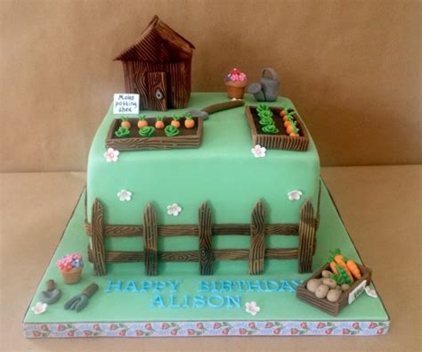 Garden Themed Cake Ideas 35 Best Shed Cakes Images On Garden Cakes Garden Theme Cake And Cake Ideas
