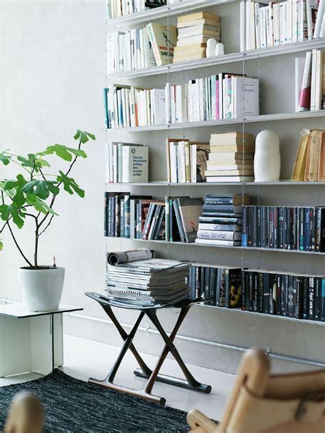 Home Interior Shelves String Shelving System Interior Design Ideas