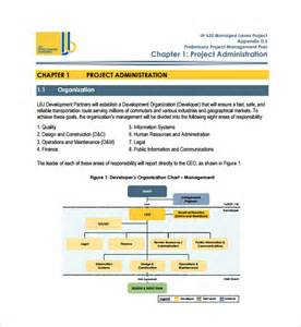 Management Plan Templates Free by 11 Project Management Plan Templates Free Sle