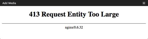 dropbox error 413 wordpress http error with nginx jon s view
