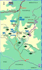 georgetown colorado map guanella pass scenic byway colorado scenic drives