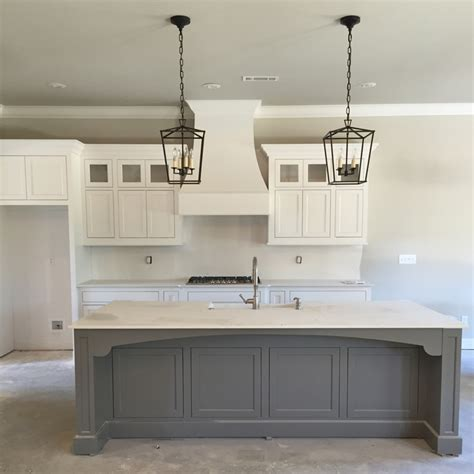 Antique Off White Kitchen Cabinets Interior Lighting Sources For Our Modern Farmhouse Our