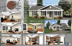 Floor Plans For Habitat For Humanity Homes by House Plans Mark Hovis Designs
