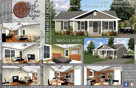 Habitat For Humanity Homes by Habitat For Humanity Hovis Designs