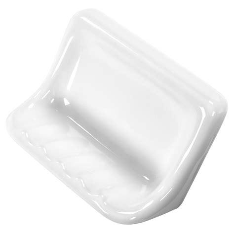 daltile finesse 3 in x 6 in x 4 in glazed ceramic soap