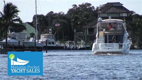 manatee pocket yacht sales     time  sell  boat youtube