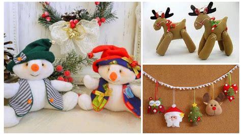 imagenes navidad en fieltro 11 moldes para hacer mu 241 ecos y adornos navide 241 os en