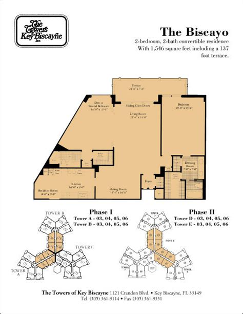 floor plan key floor plans the towers of key biscayne