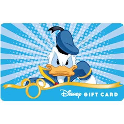 Bam Gift Card - your wdw store disney collectible gift card fab 5 bam donald duck