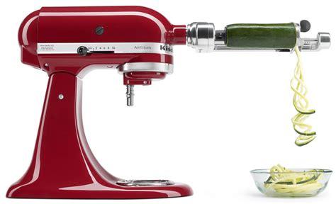 Kitchenaid Spiralizer Thin Blade Set Kitchenaid 174 Spiralizer With Peel And Slice Food