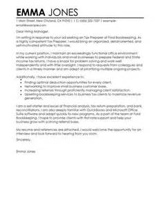 Cover Letter Tax Accountant Tax Preparer Cover Letter Examples Accounting Amp Finance