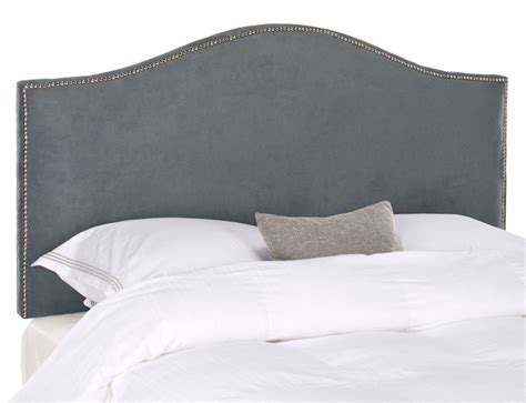 grey suede headboard connie grey velvet headboard silver nail head headboards