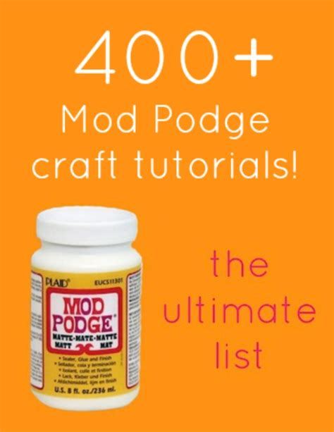 How To Decoupage With Mod Podge - mod podge craft tutorials mod podge rocks