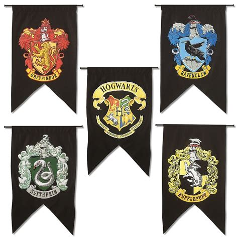 Halloween Party Decoration Ideas by Hogwarts House Banners Harry Potter Gifts Halloween Decorations Costume Party Ebay