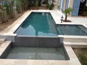 beton decoratif piscine piscine b 233 ton