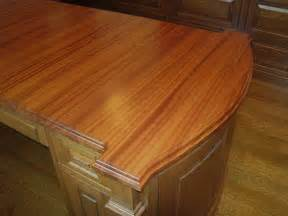 Wood Countertops Mahogany Wood Countertops For A Desk Top In Philadelphia Pa