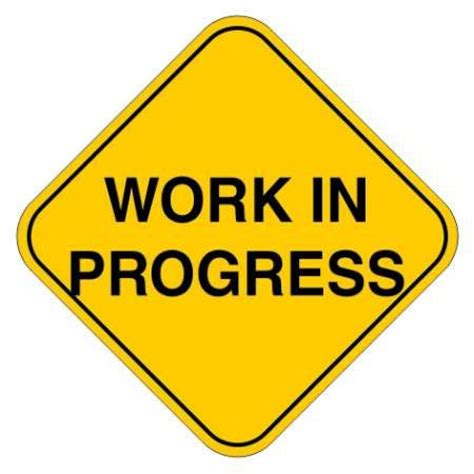 work in progress sign work in progress sign all traffic safety signages manufacturers