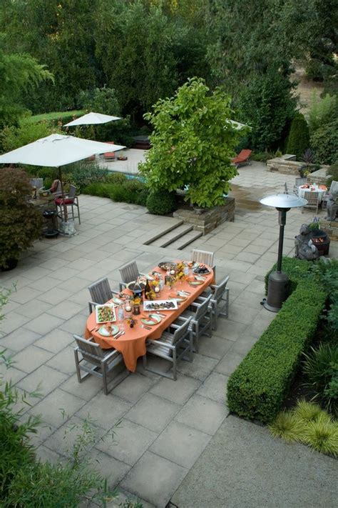 concrete patio ideas backyard backyard pavers ideas landscape traditional with