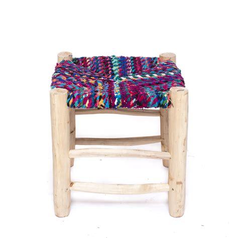 taburete la cuerda taburete artesanal cuerda y madera i mondecoshop