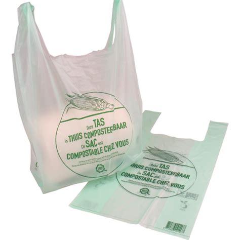 Tas Transparant biodore 174 tas composteerbaar zetmeelblend 25x6x40cm hemdtas transparant groen 290054