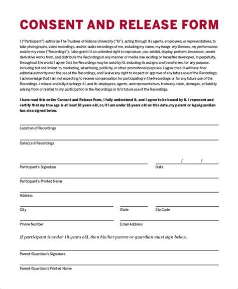 Parental Consent Permission Letter Sle Forms Sle Parental Consent Form Sle Authorization