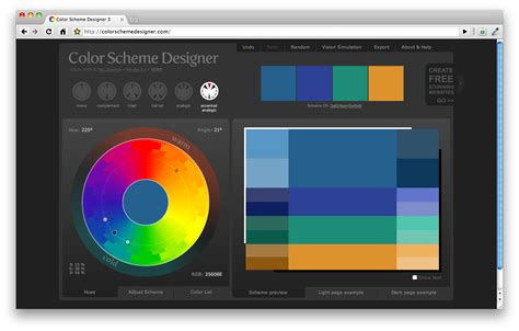 scheme color designer color scheme designer