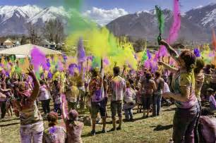 utah color festival holi mela festival of colors