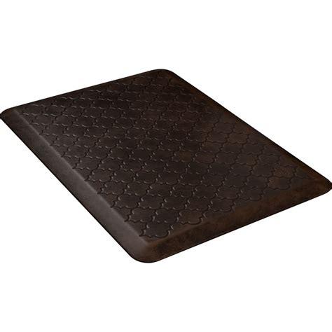 Bantalan Anti Selip Motif Chanel wellness mats pmt32wmrdb trellis motif mat w no trip beveled edge non slip material 3x2 ft