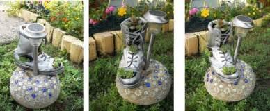 Home And Garden Decor Diy Home Garden Decor Idea With A Shoe Planter And Succulents